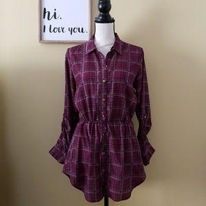 Purple tunic 💜